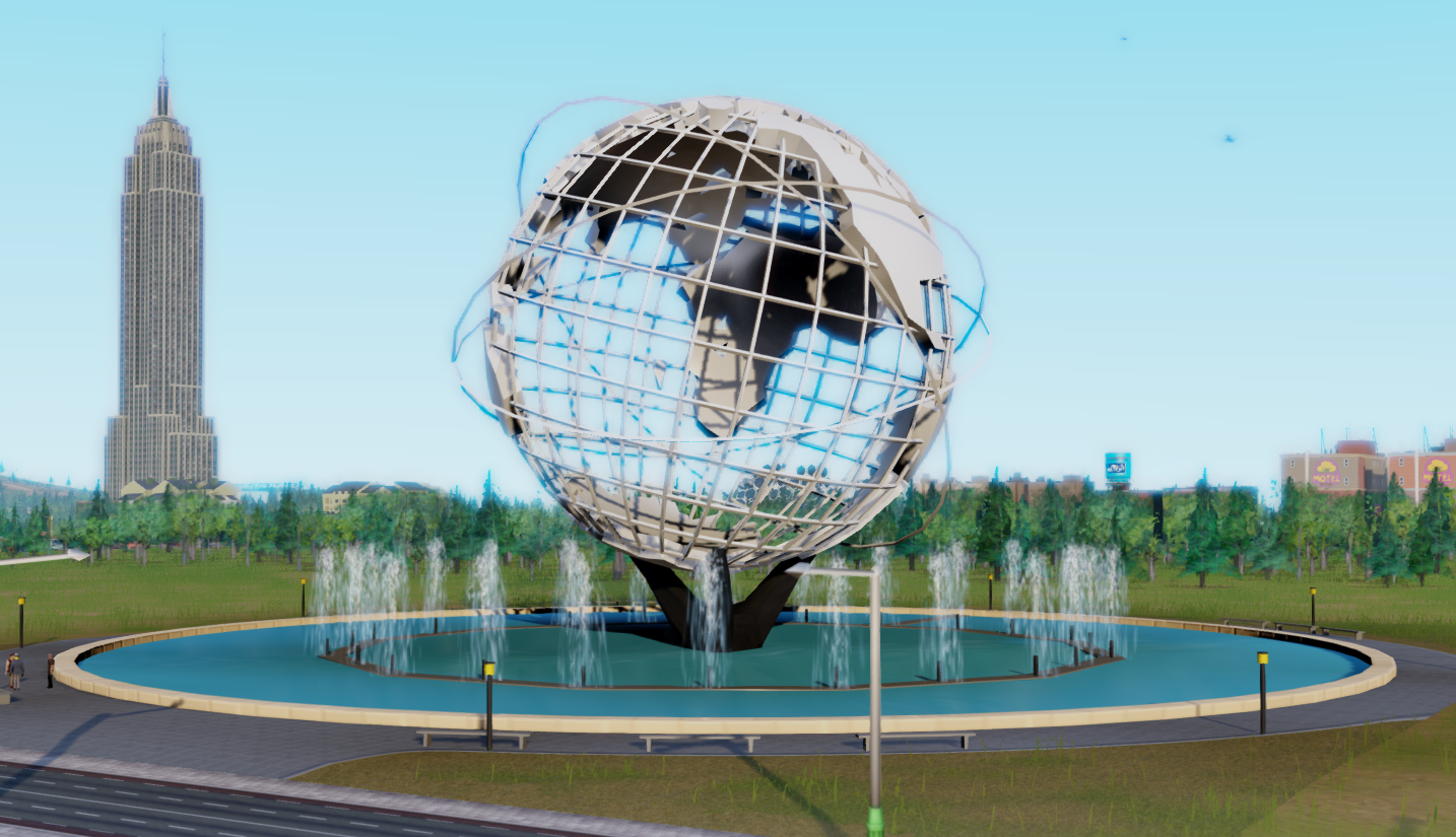 the unisphere by oppie