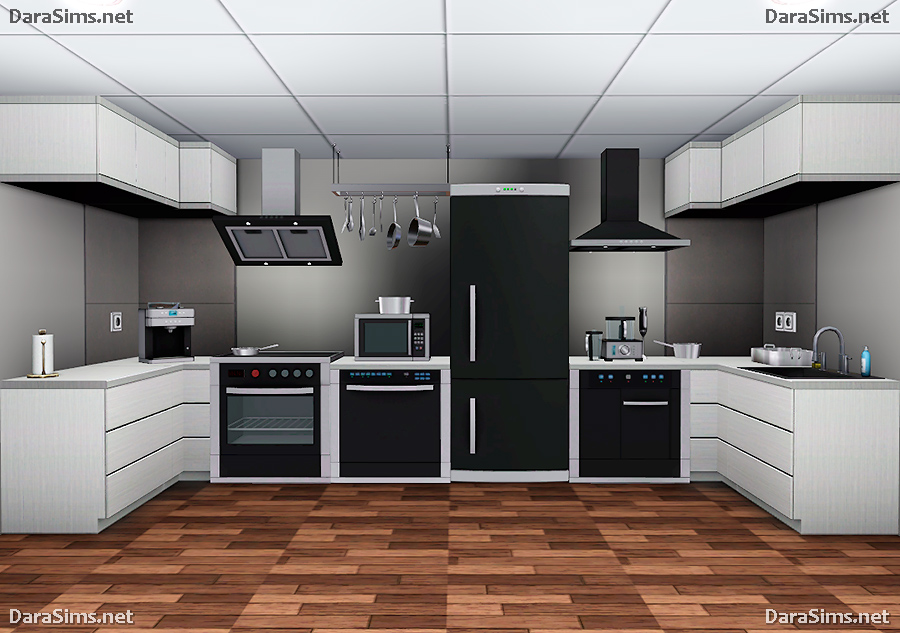 Kitchen set by darasims liquid sims for Kitchen set 3 meter
