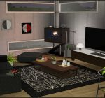 Palladium Home Library by wondymoon - Liquid Sims