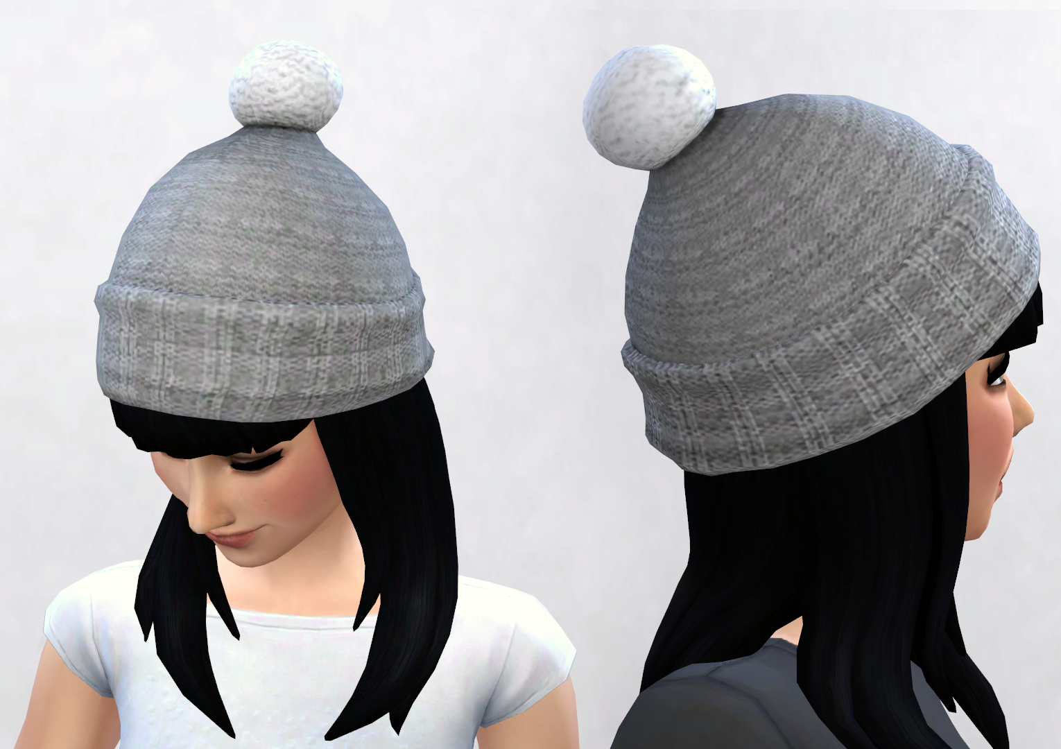 Puffball Hat Conversion By Pickypikachu Teh Sims