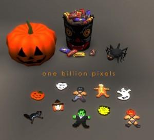 OBP Decorative Halloween Cookies TN 1