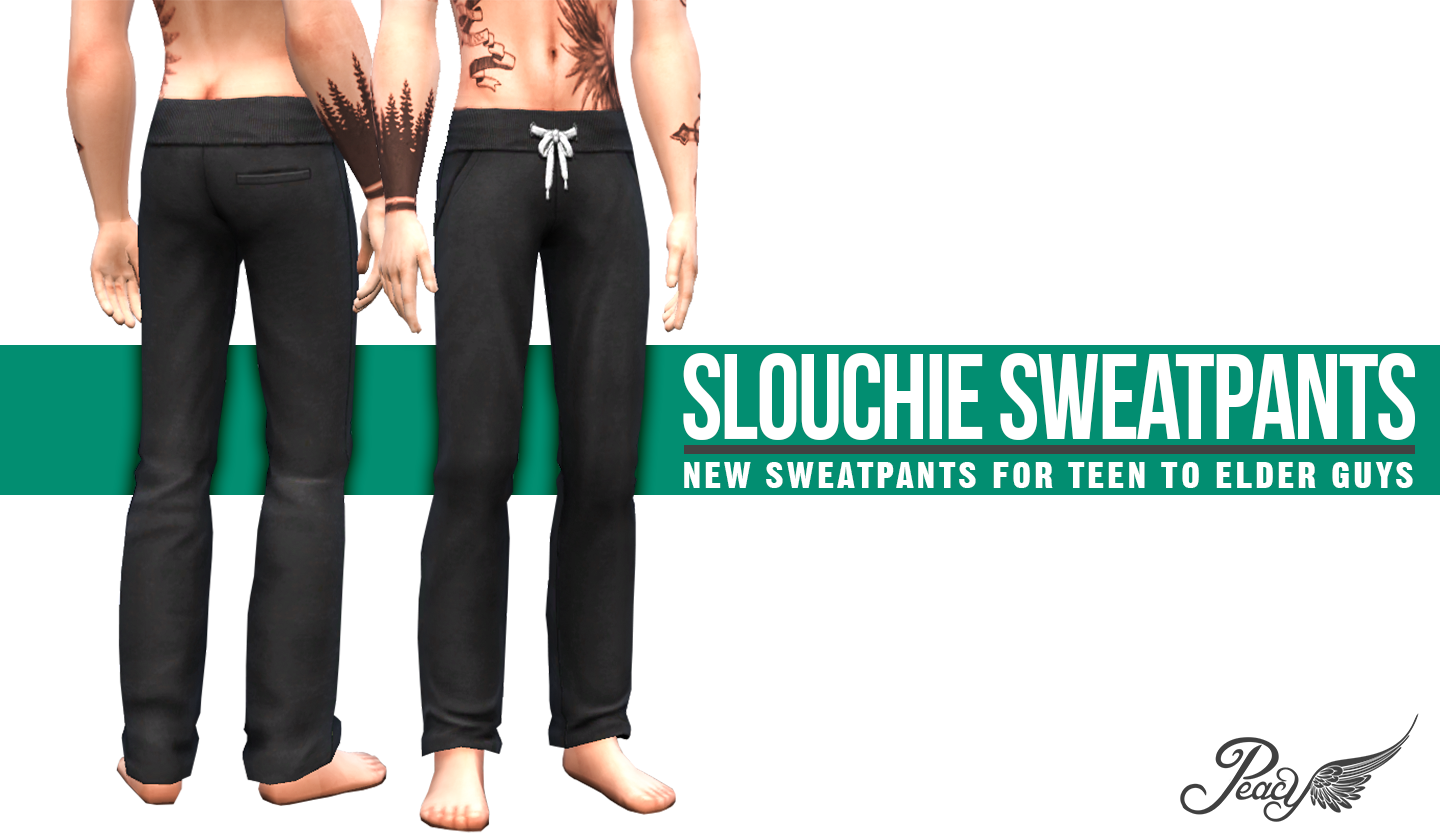 Slouchie Sweatpants By Peacemaker Liquid Sims