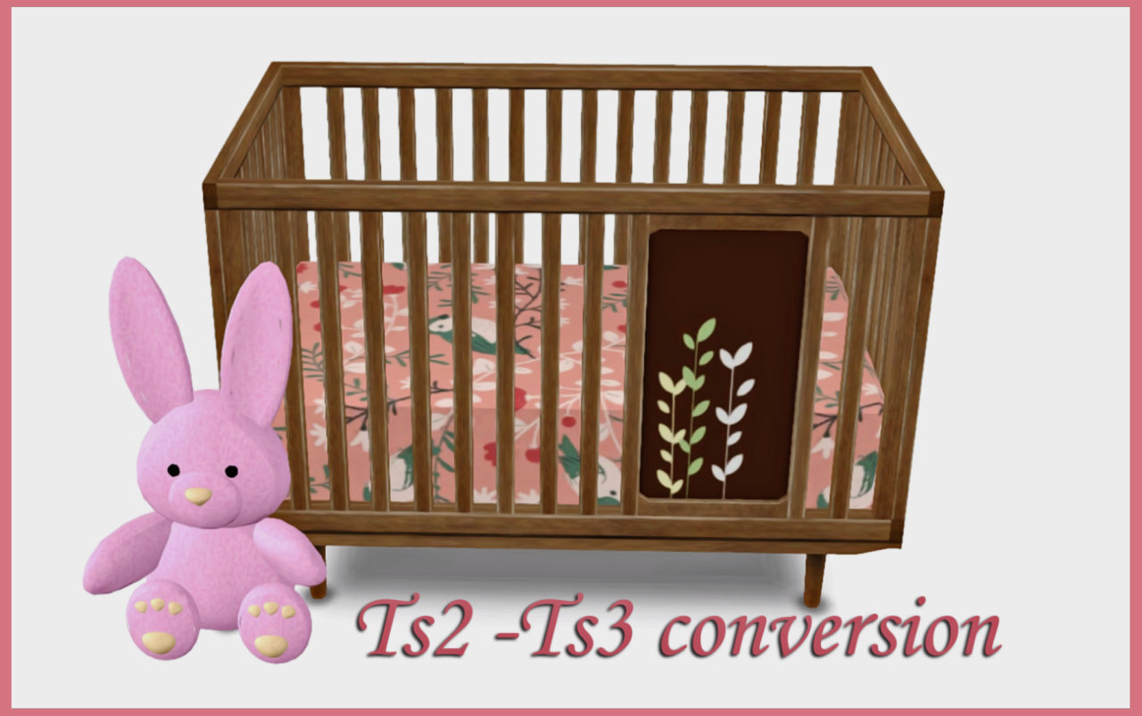 Sims 4 Cc Toddler Bed