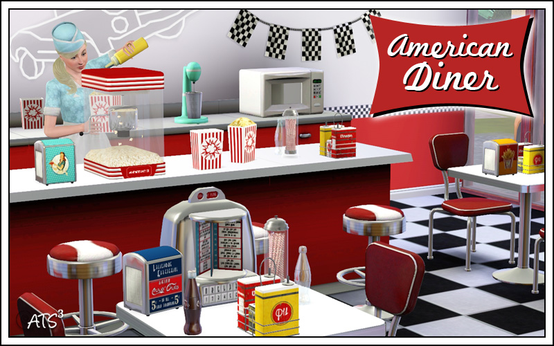American Diner By Sandy Liquid Sims