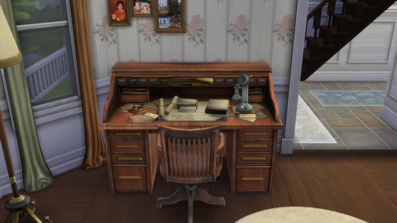 Bioshock Office Conversion By Rose Liquid Sims