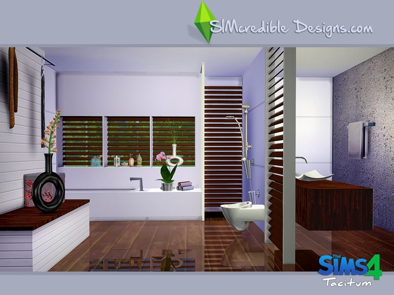 Tacitum Bathroom by SIMcredible! Designs - Liquid Sims
