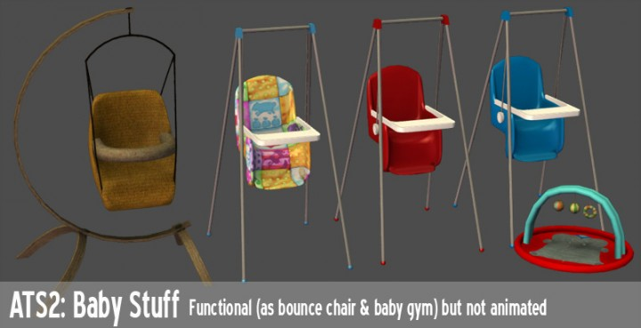 Functional Baby Stuff By Sandy Liquid Sims
