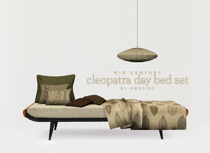 Cleopatra day bed set - Download