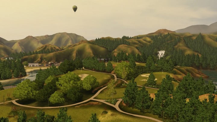 Pounawea – A sleepy New Zealand town for The Sims 3 Download