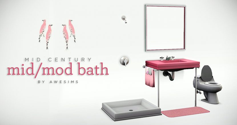 Mid Mod Bath - Download