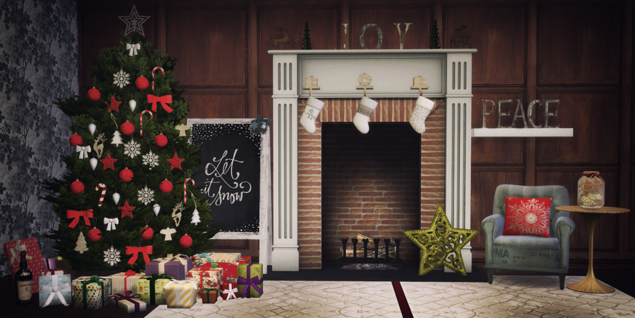 Decorate The Tree Christmas Stuff By Blue Hopper Simming