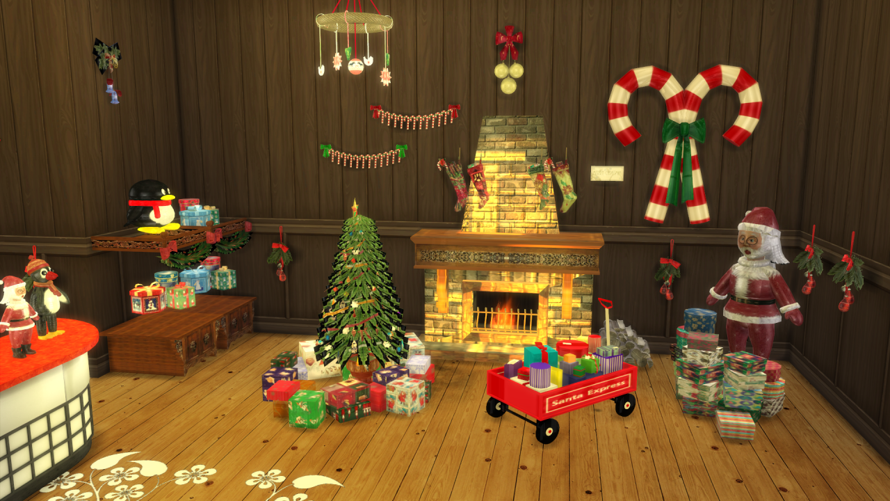 christmas shop conversion by leo liquid sims. Black Bedroom Furniture Sets. Home Design Ideas
