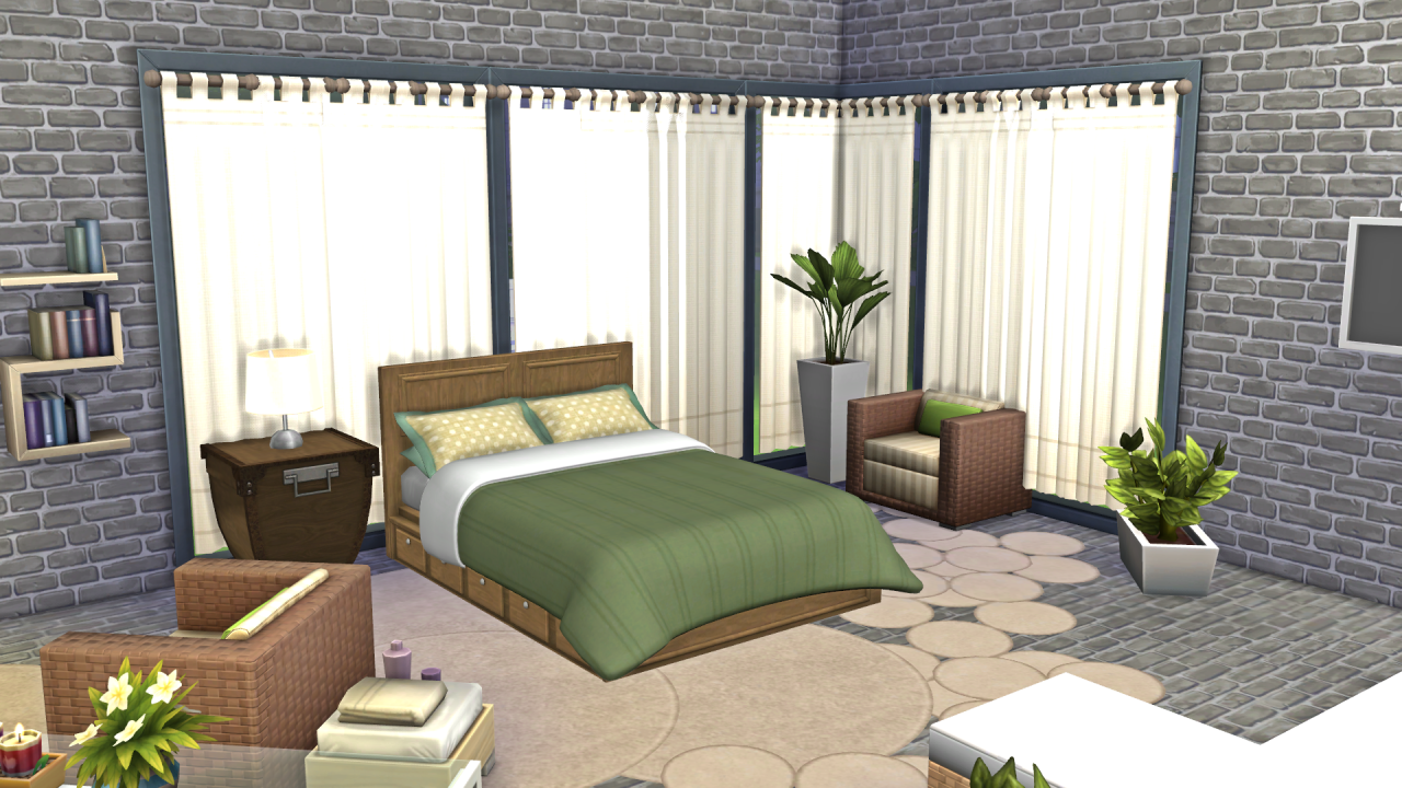 Beach House Bed Lamp With Outlet