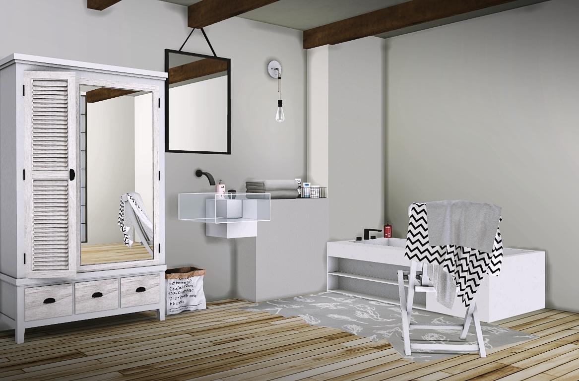 194 Ke Bathroom Conversion By Mxims Teh Sims