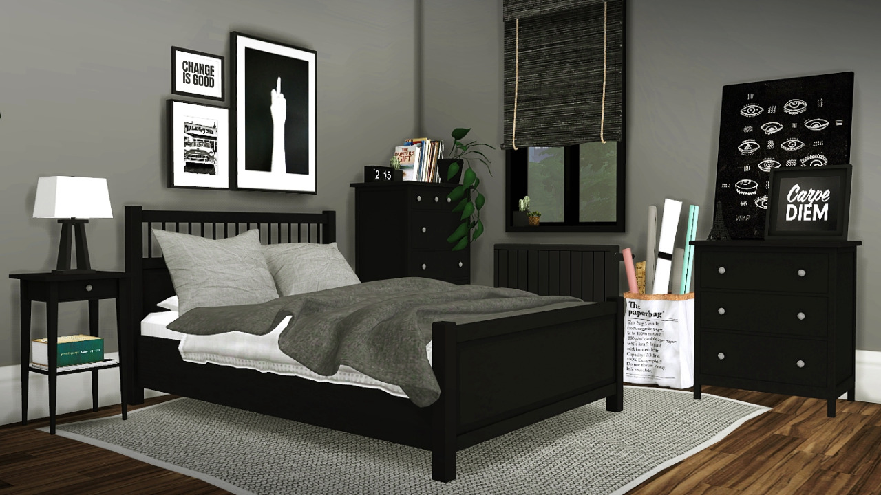 Ikea Hemnes Bedroom By Mxims Liquid Sims