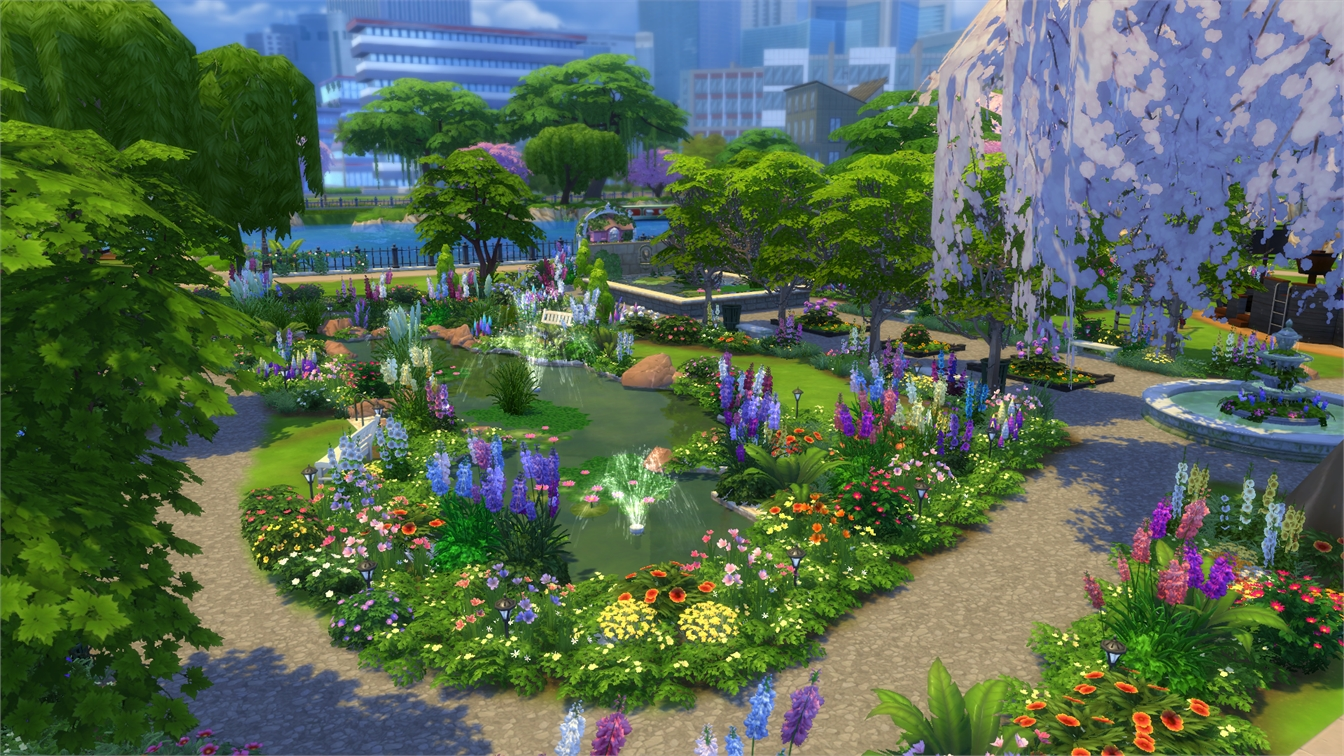 10 Beautiful Garden Sets For The Sims 4 Teh Sims