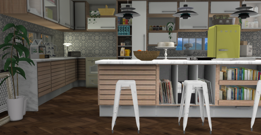 C Series Kitchen By Minc Teh Sims