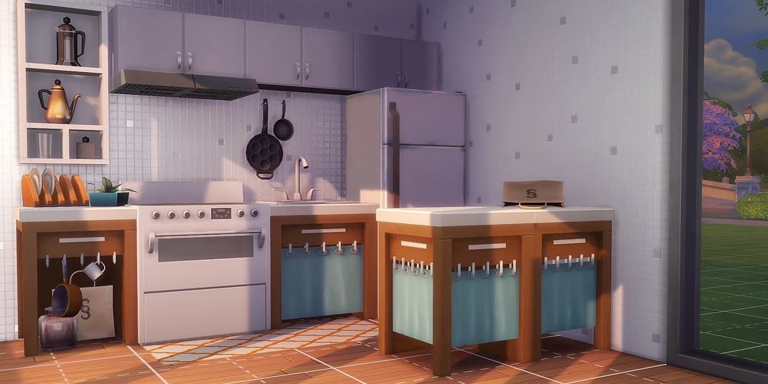 Hand Me Down Counters By Servobride Teh Sims