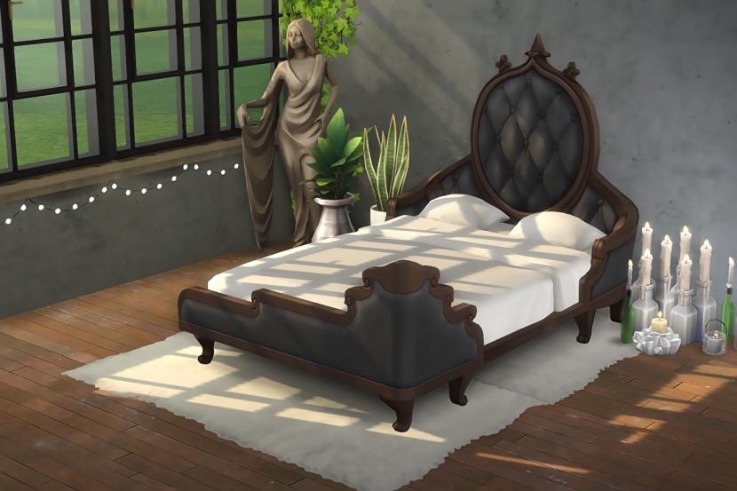 Opulence Incarnate Bedframe By Kiwisims Liquid Sims