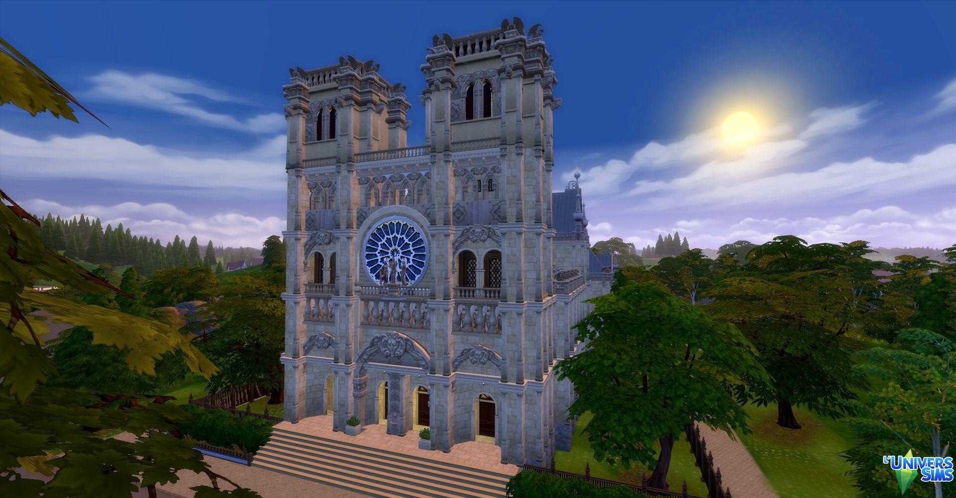 Notre Dame De Paris By Audrcami Liquid Sims