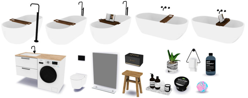 Boo Bathroom Set By Novvvas And Mxims Liquid Sims